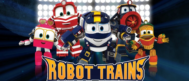 Dubbing animated Series Robot Trains STUDIOS VOA