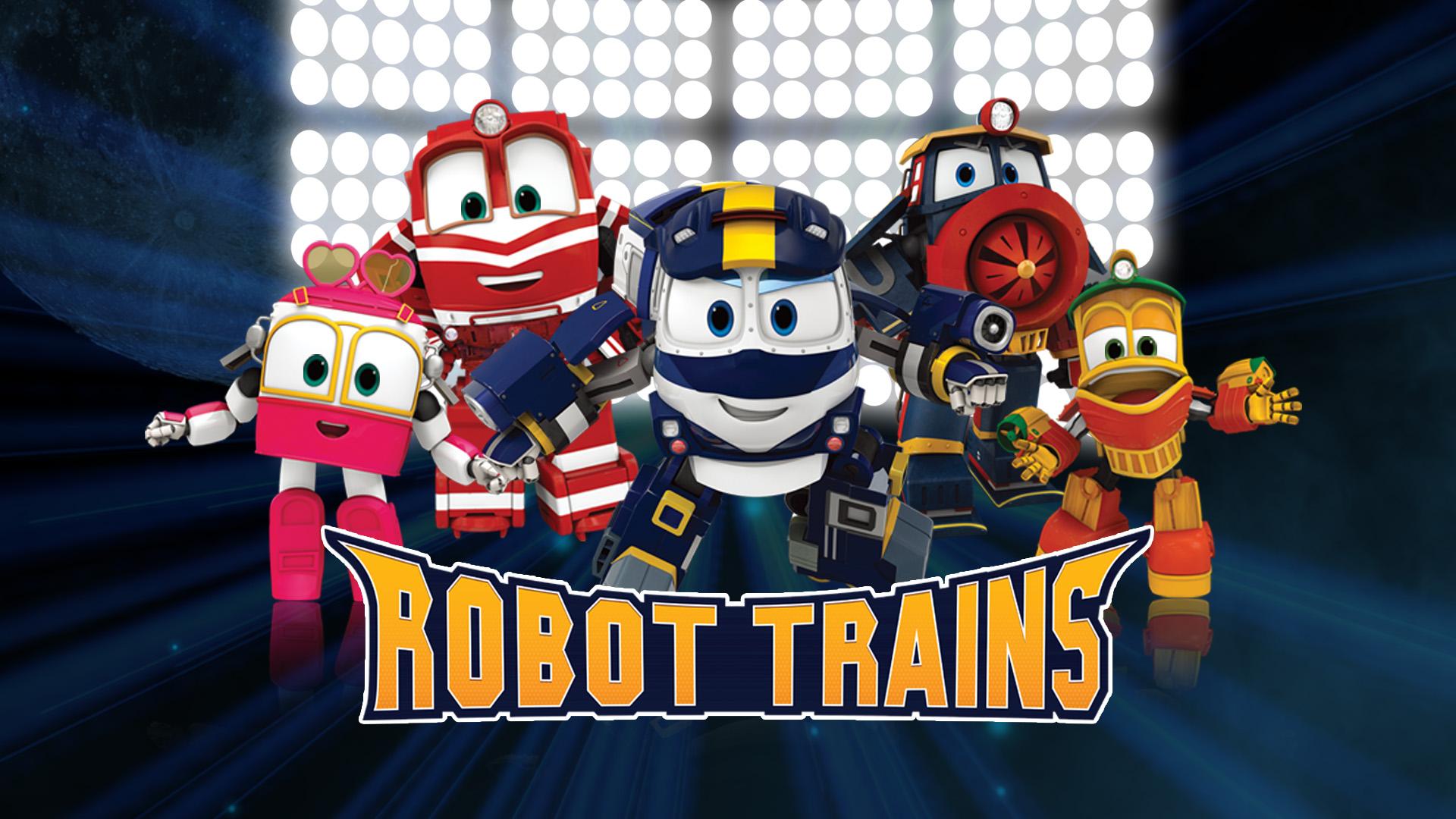 Dubbing animated Series Robot Trains STUDIOS VOA
